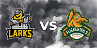 Larks vs. Flickertails_logo